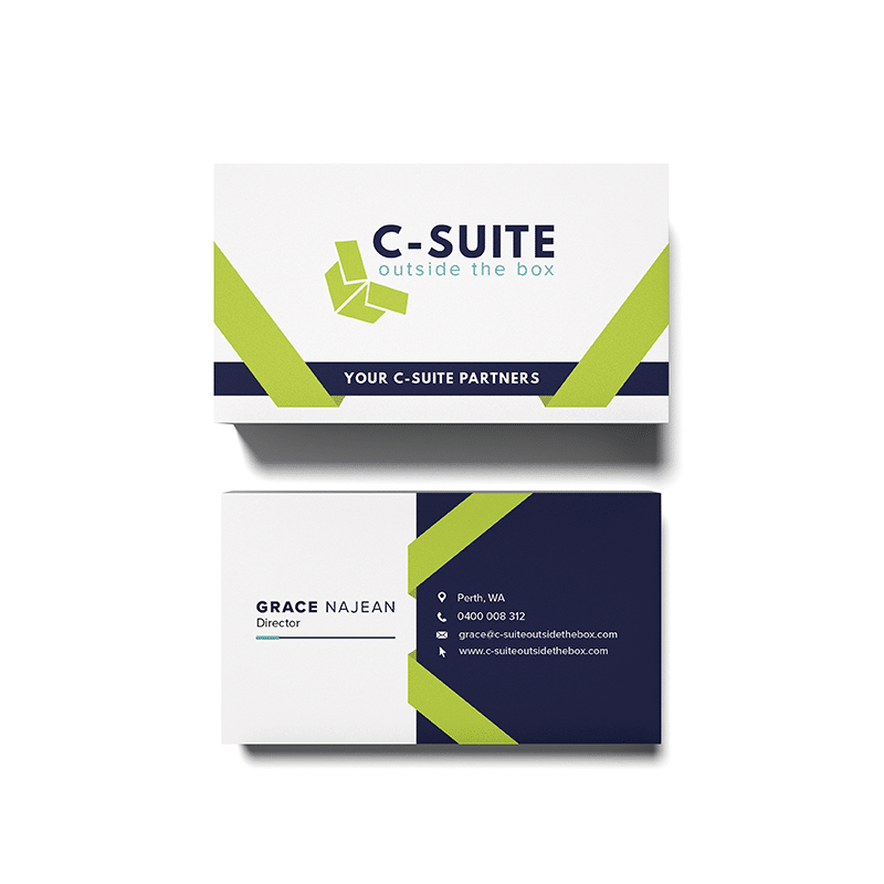 C-Suite Outside of the Box Business Cards
